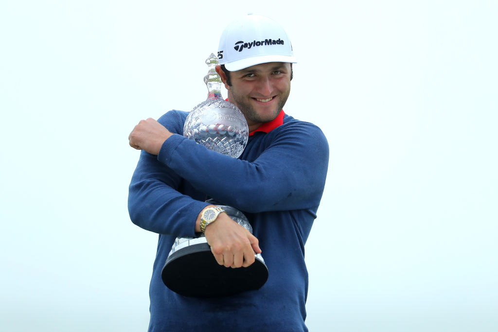 Rahm claims Irish Open with record win