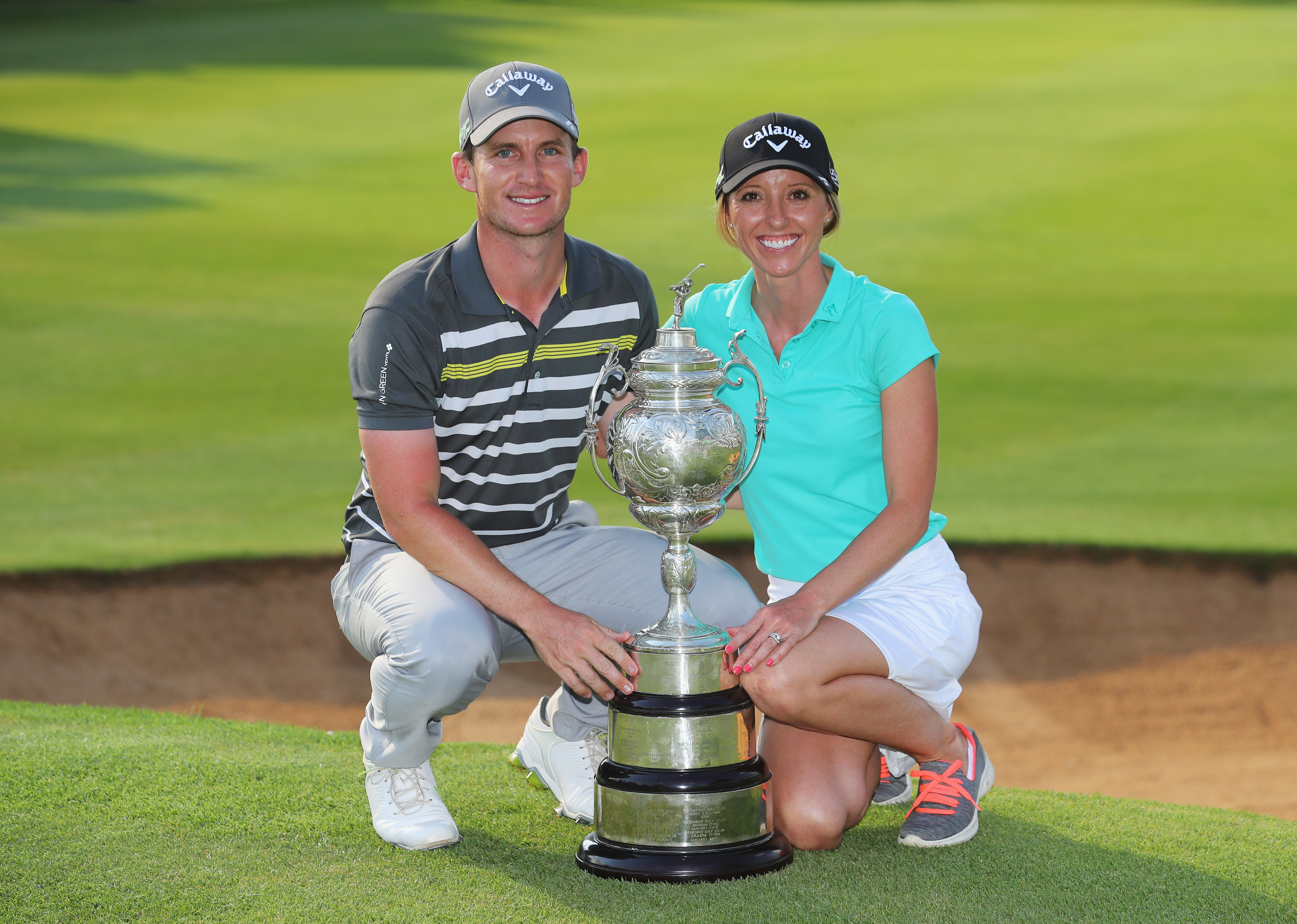 Grace, Koepka share first round lead at South African Open