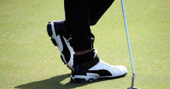 0a24327a2b2 PUMA s limited-edition Ignite Hi-Top is a golf shoe that breaks tradition