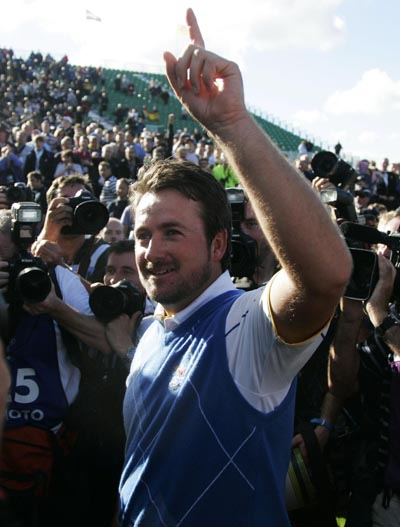 Ryder Cup hero and one of the straightest drivers in golf