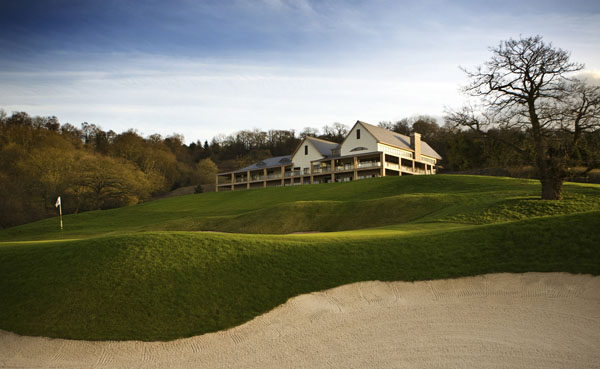 Enjoy breakfast in the clubhouse overlooking the dramatic 18th hole