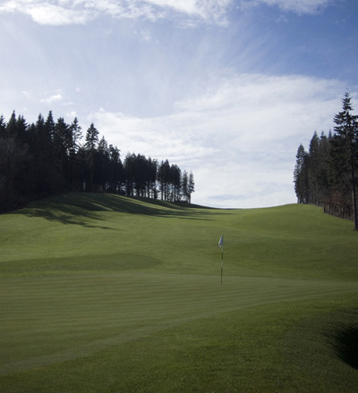 Third hole on the Montgomerie course