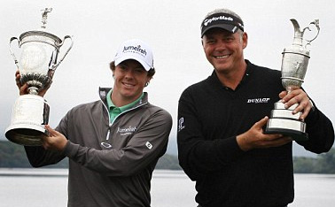 McIlroy and Clarke will join Schwartzel
