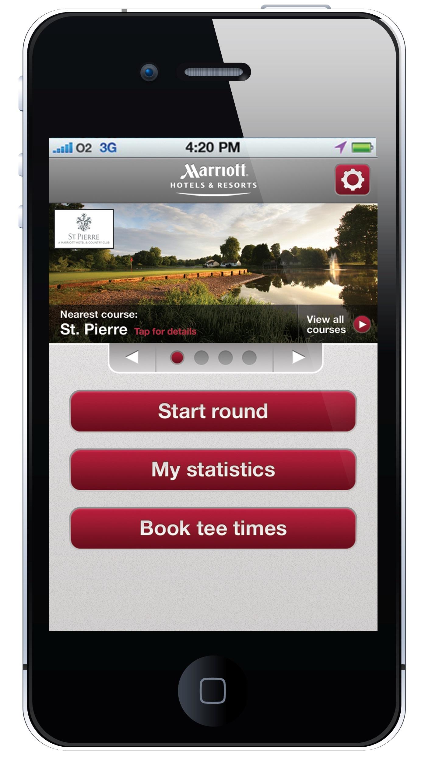 Marriott Golf launches new app