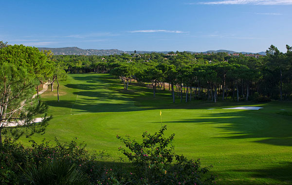 Cork trees line the fairways on the north course