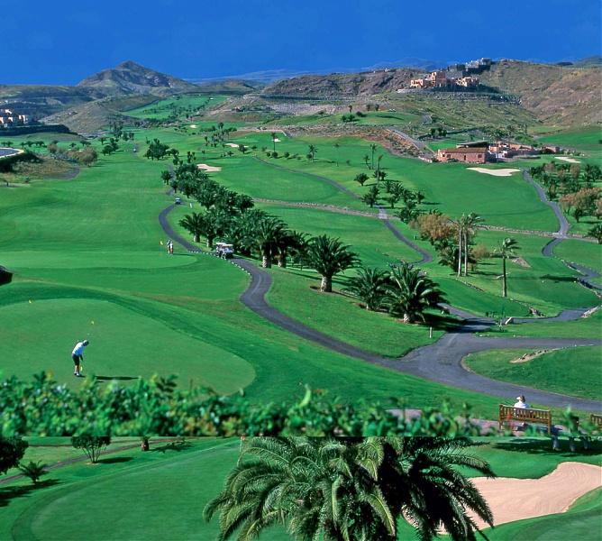The stunning Salobre resort on Gran Canaria