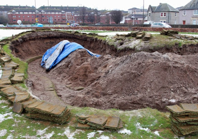 Skull was unearthed during bunker renovation