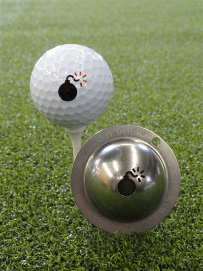 Personalising your golf ball is a cool way to give it an individual mark