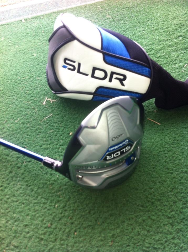 Andy has fallen in love with his SLDR driver