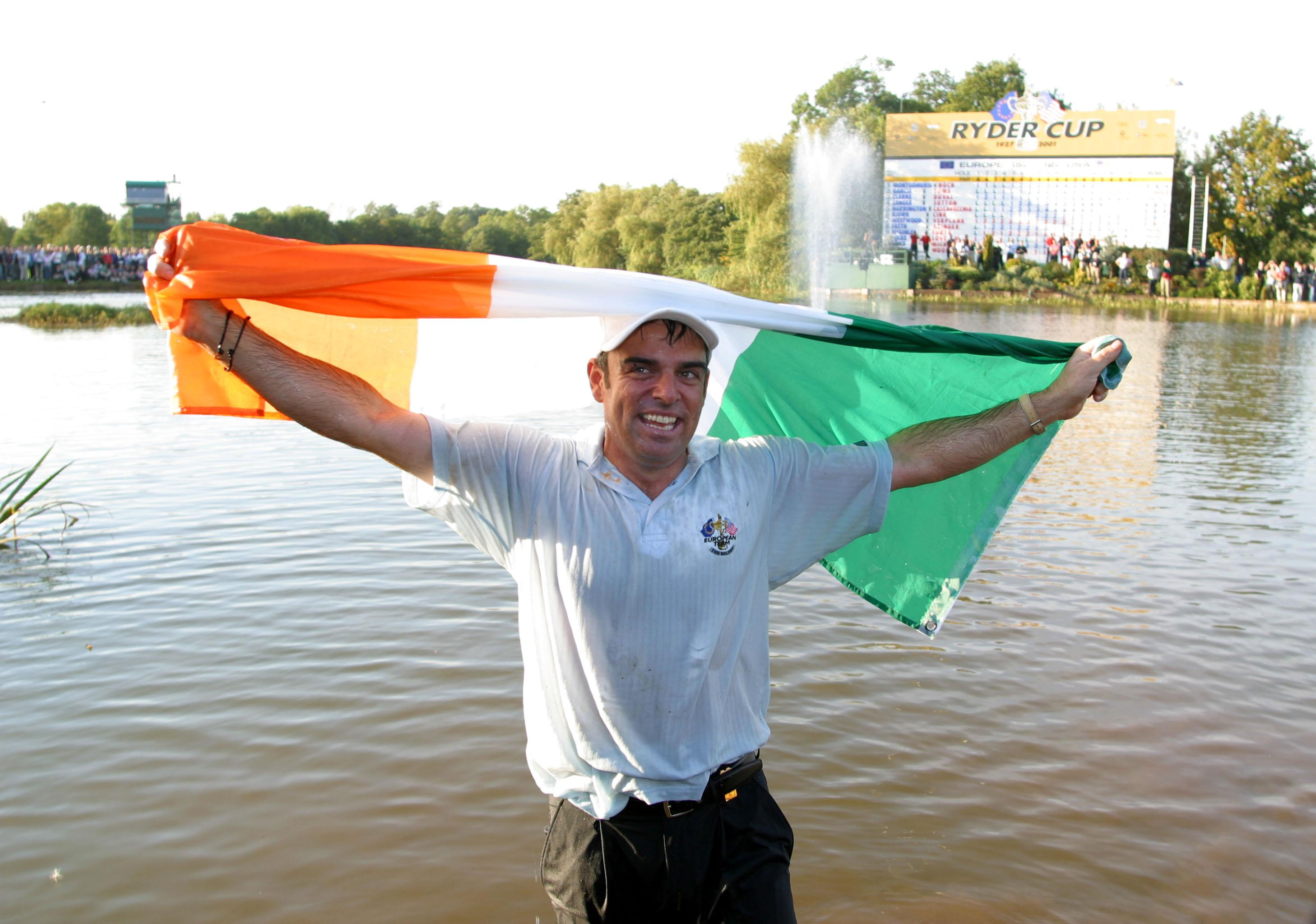 Ryder Cup Captain McGinley tells juniors to have the 'complete package'
