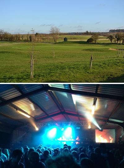 Barn rave near Heydon Grange Golf Club stopped golfers from playing