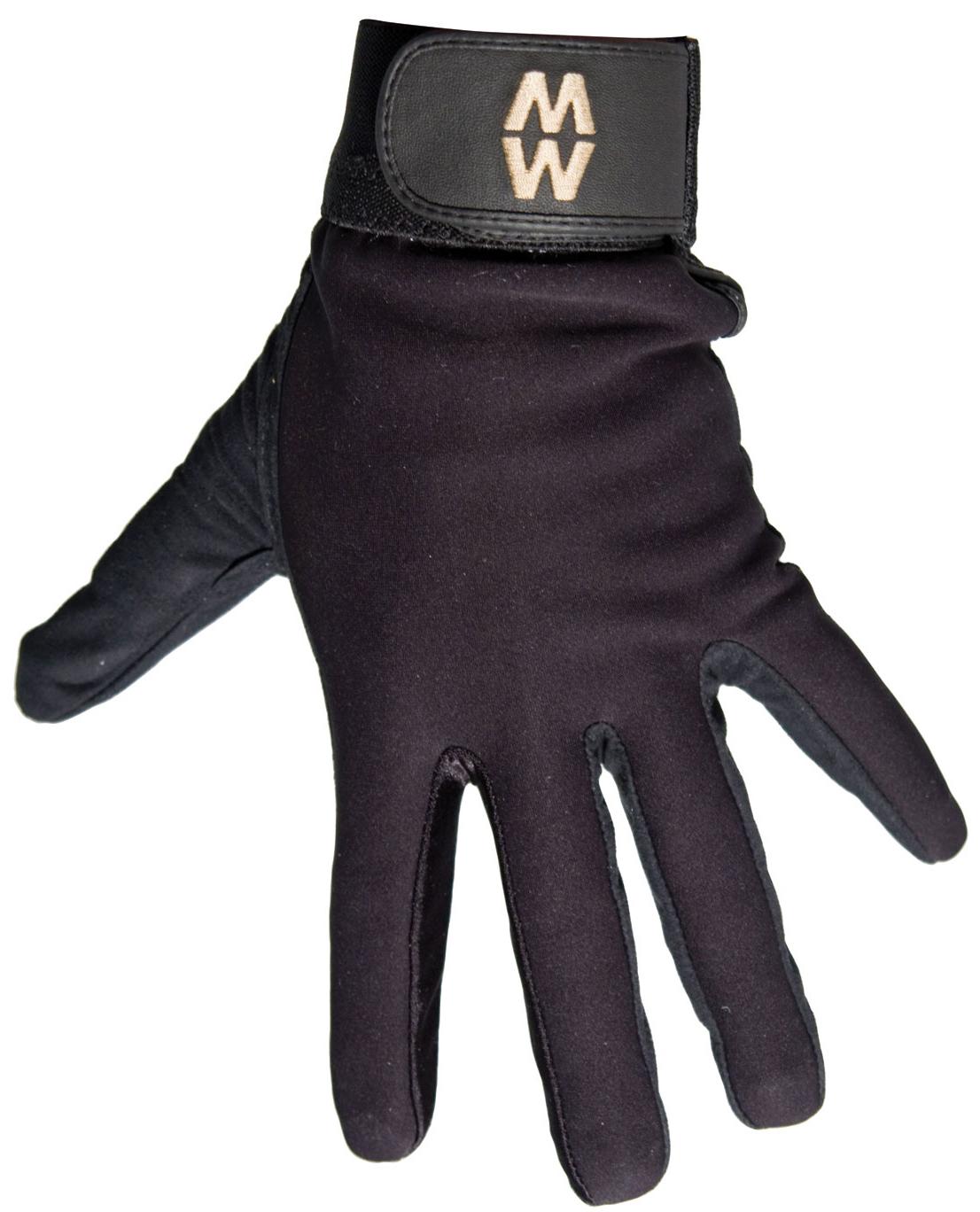 Premium Sports Gloves Short Cuff Macwet Mesh Equestrian Horse Riding Gloves