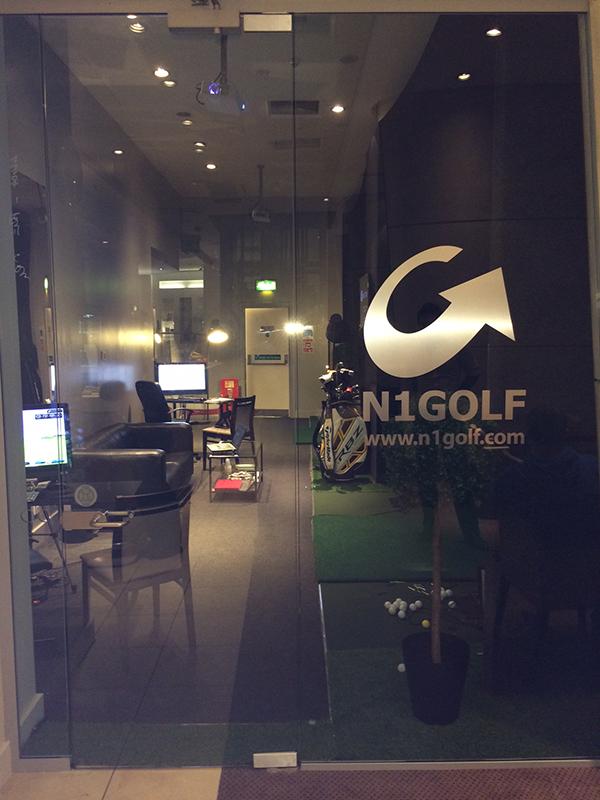 CityPoint Golf Studio in Moorgate, London