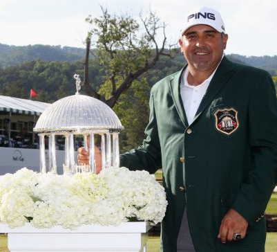 A green jacket of a different kind for Angel