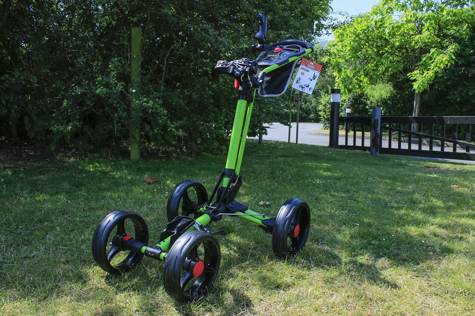 Review: Lynx 4 Wheel Cart