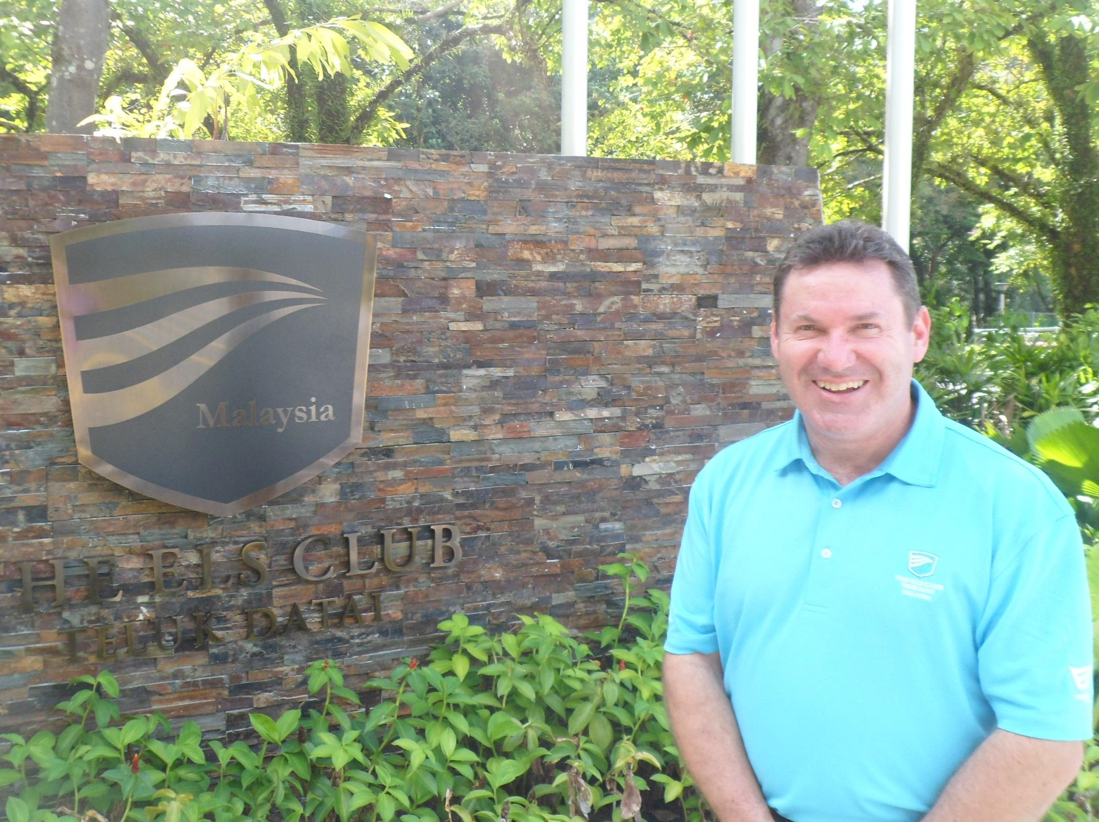 David Townend, Els Club Malaysia, Senior Vice President on-site at The Els Club Teluk Datai