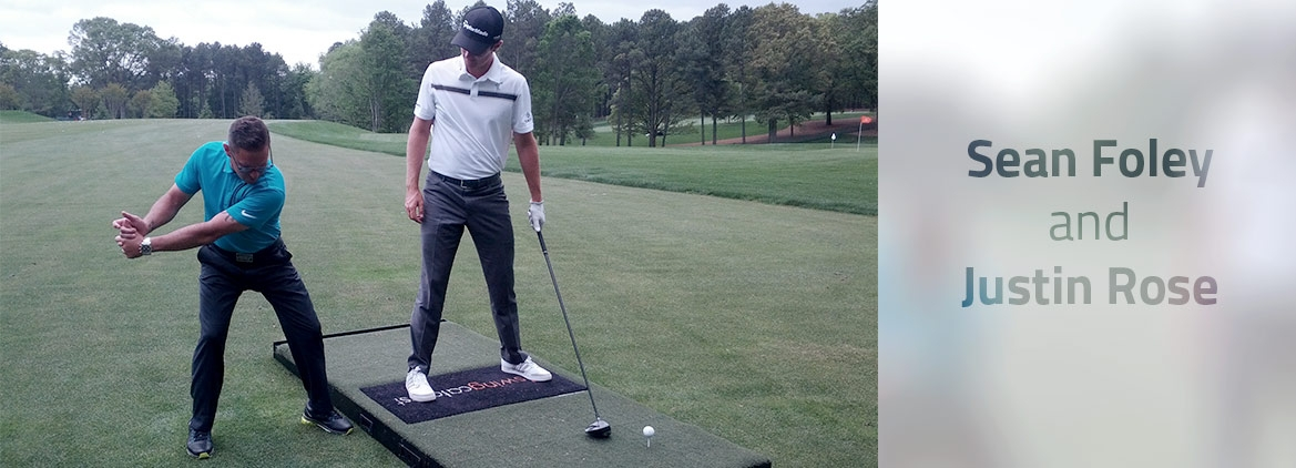 Foley and Rose working with the Swing Catalyst 3D Motion Plate
