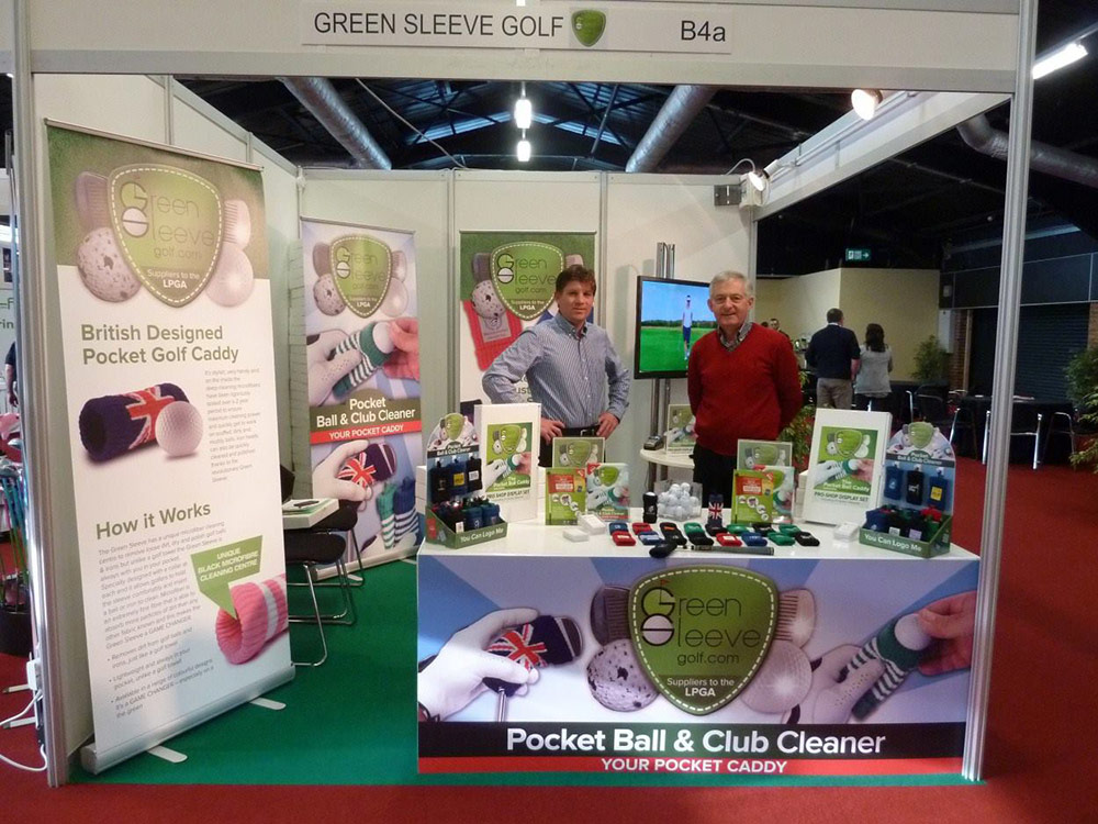 Green Sleeve made its debut at Harrogate Show