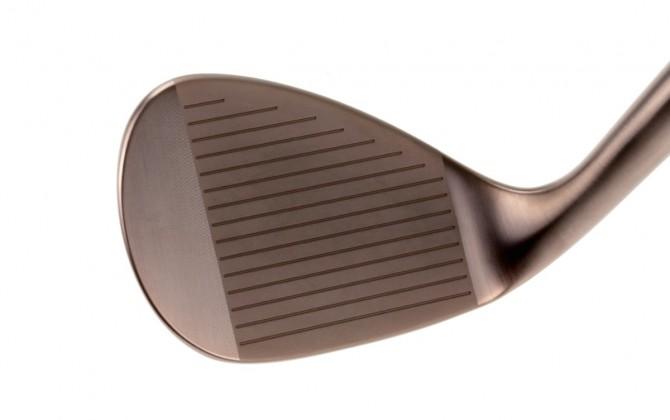 H2 wedge in cashmere bronze