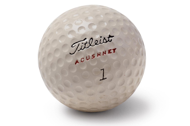 The original Titleist golf ball (Photo: Titleist)