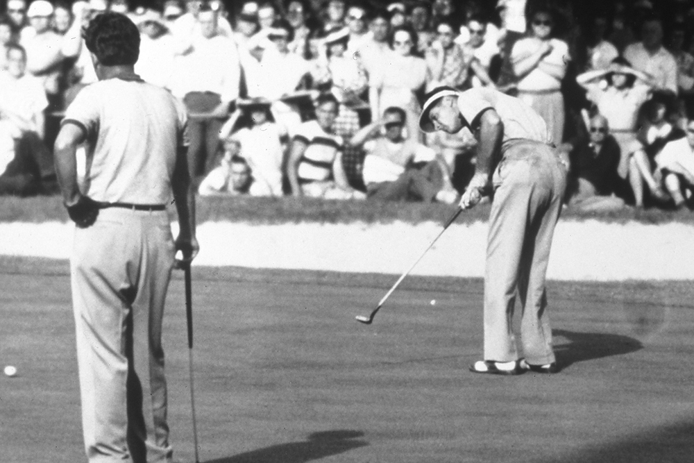 Titleist becomes the number one played ball at the 1949 US Open at Medinah (Photo: Titleist)