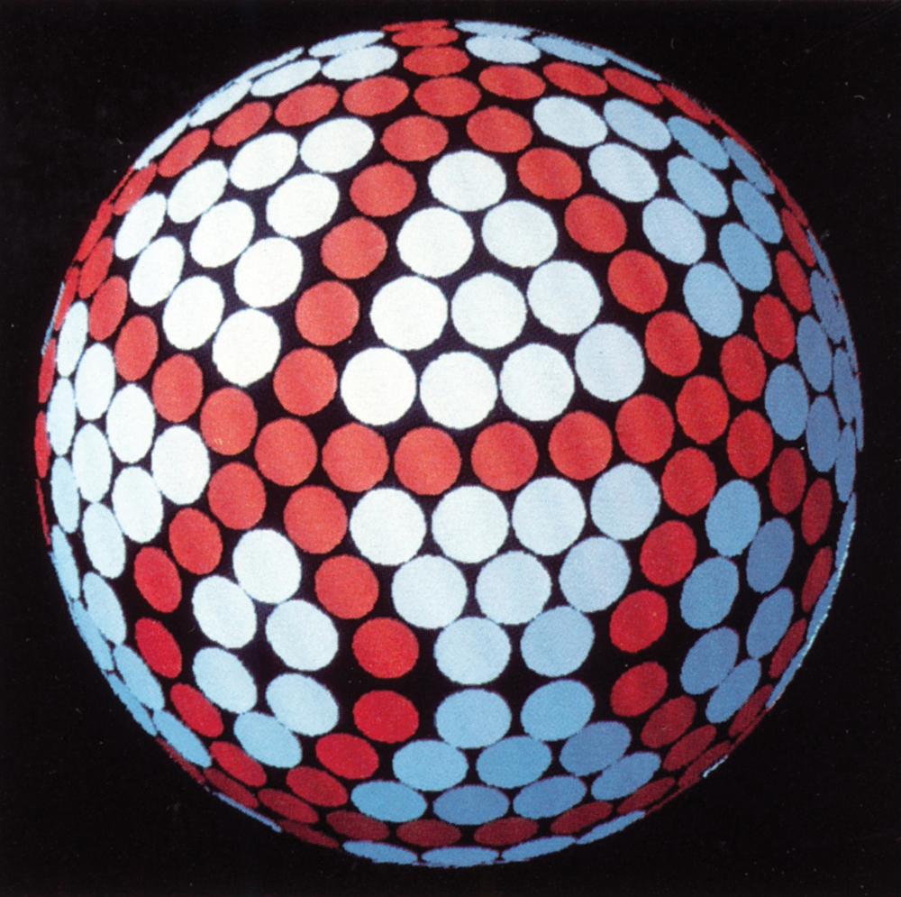 Titleist's 'icosahedron' dimple design (Photo: Titleist)