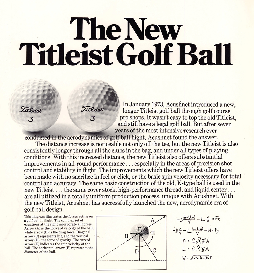 Titleist Pro Trajectory ball is launched (Photo: Titleist)
