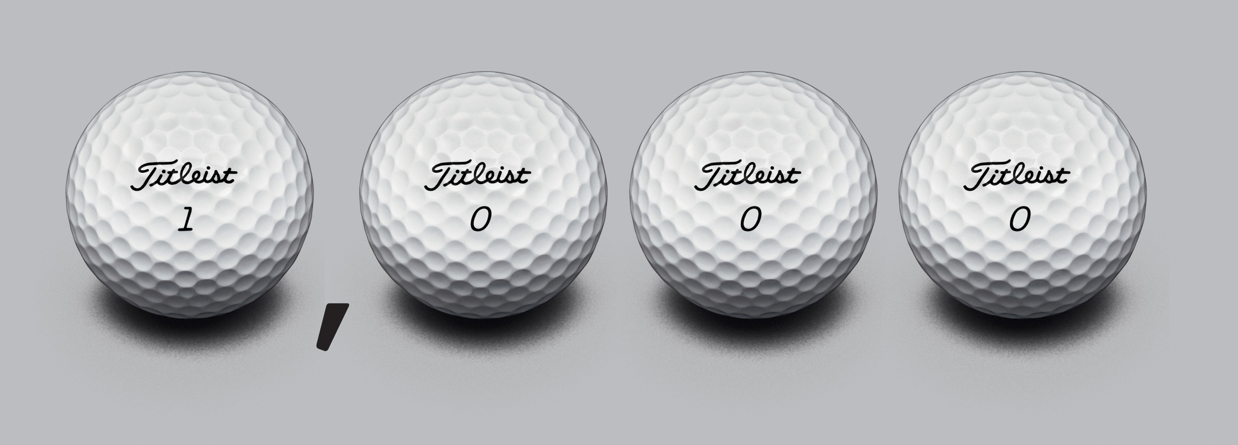 Titleist Pro V1 ball celebrates its 1,000th win in 2007 (Photo: Titleist)