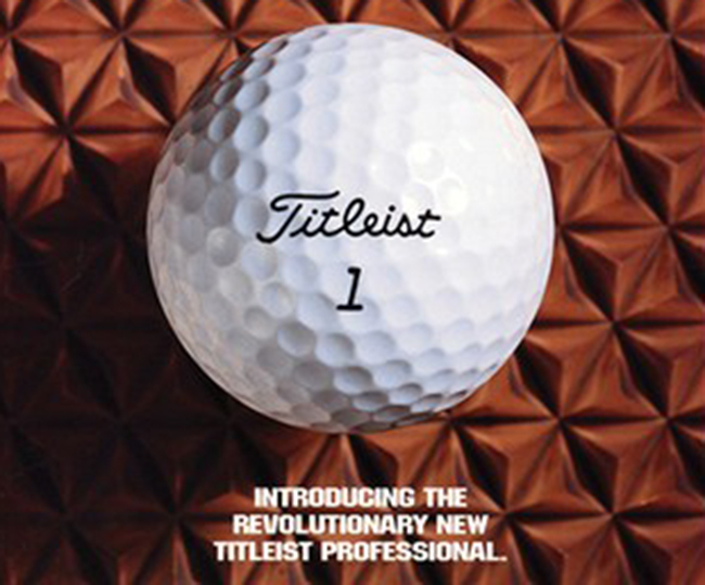 Titleist Professional becomes first Tour-played urethane covered ball (Photo: Titleist)