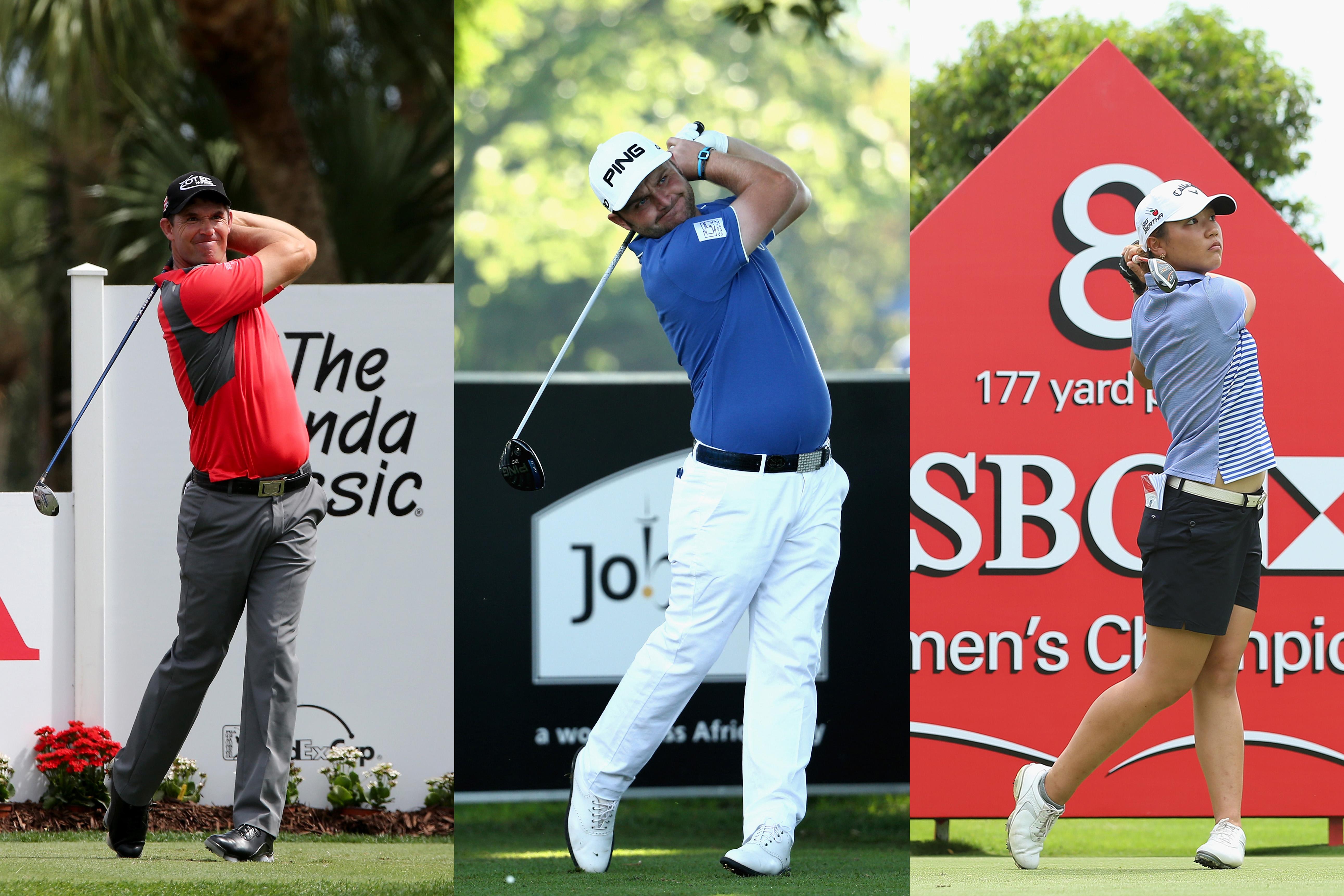 Padraig Harrington, Andy Sullivan and Lydia Ko tasted success this week (Photo: Getty Images)