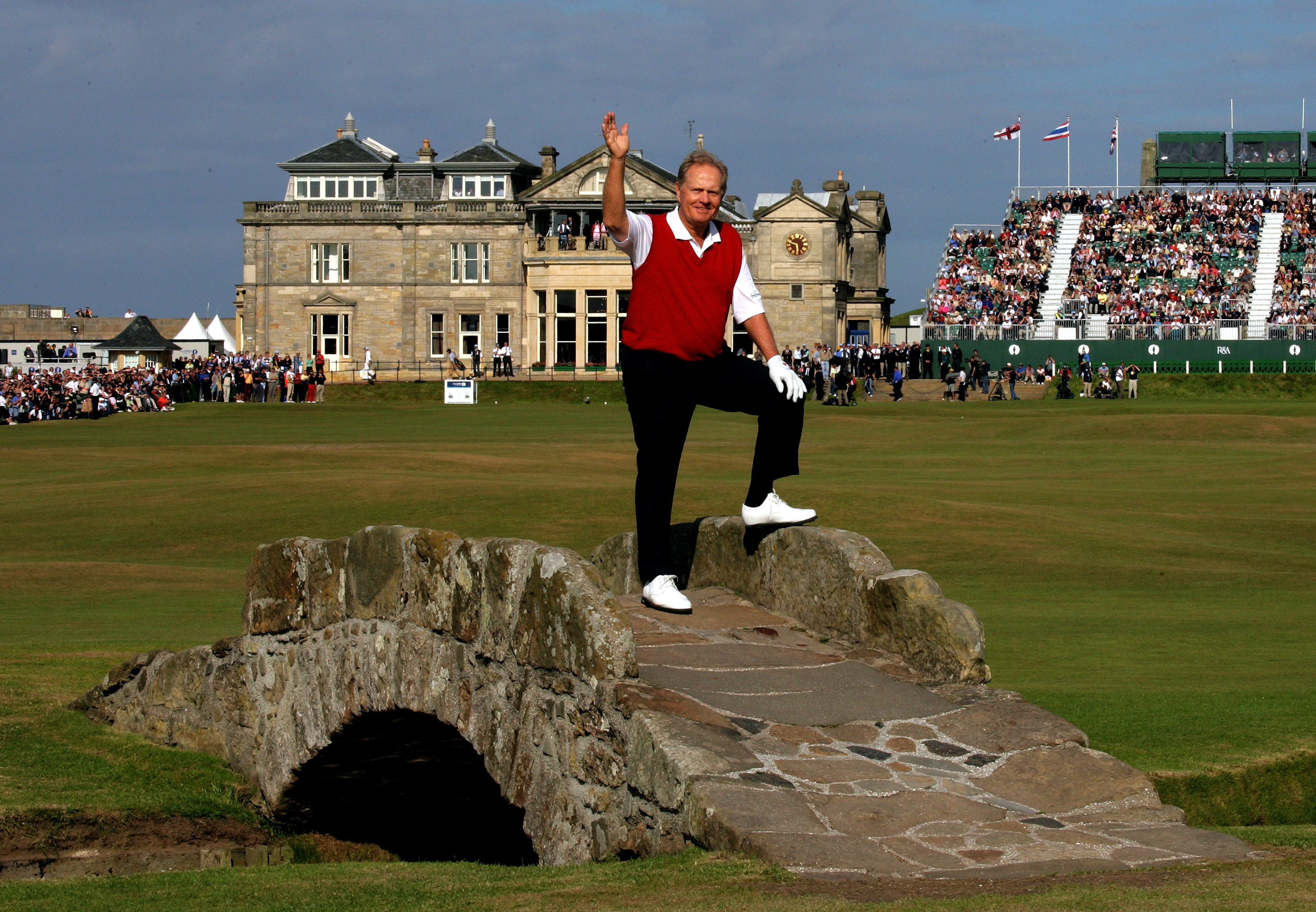 Jack Nicklaus won the Open at St Andrews in 1970 and 1978 (Photo: Getty Images)