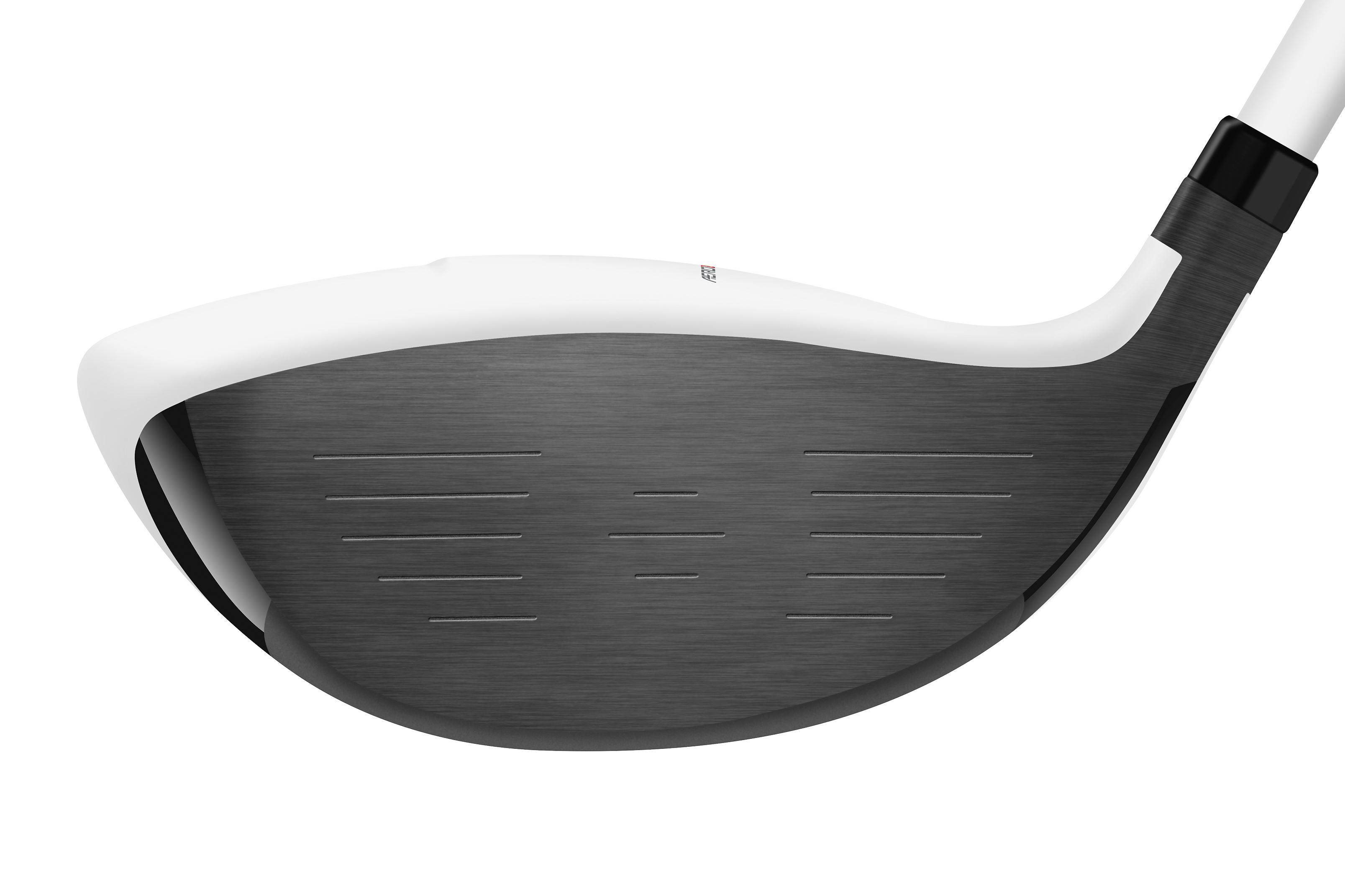 TaylorMade has added greater area to the low heel and toe of the AeroBurner Mini to improve mis-hits