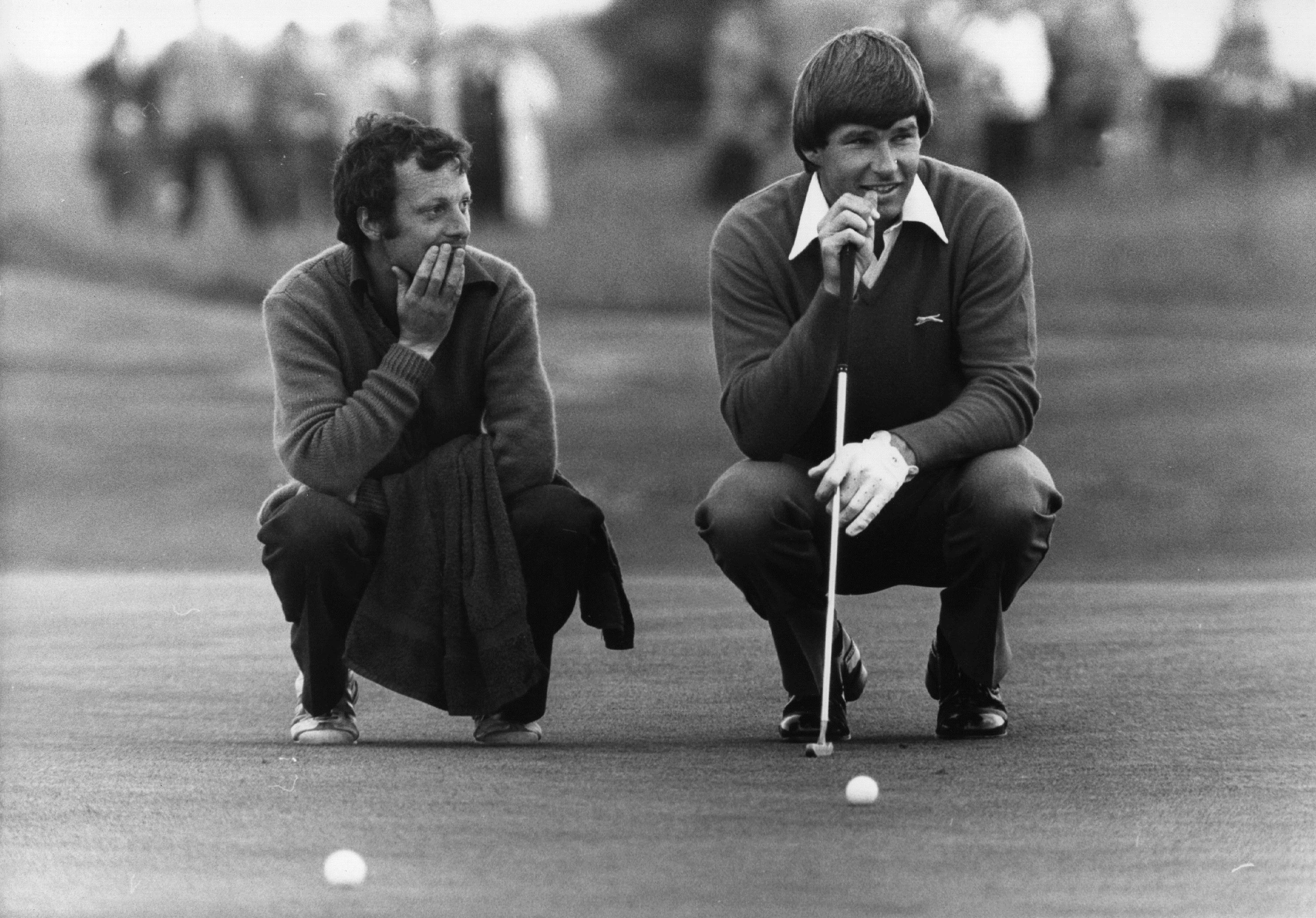 Faldo made his debut in the Open in 1976 at Royal Birkdale, finishing tied 28th (Photo: Getty Images)