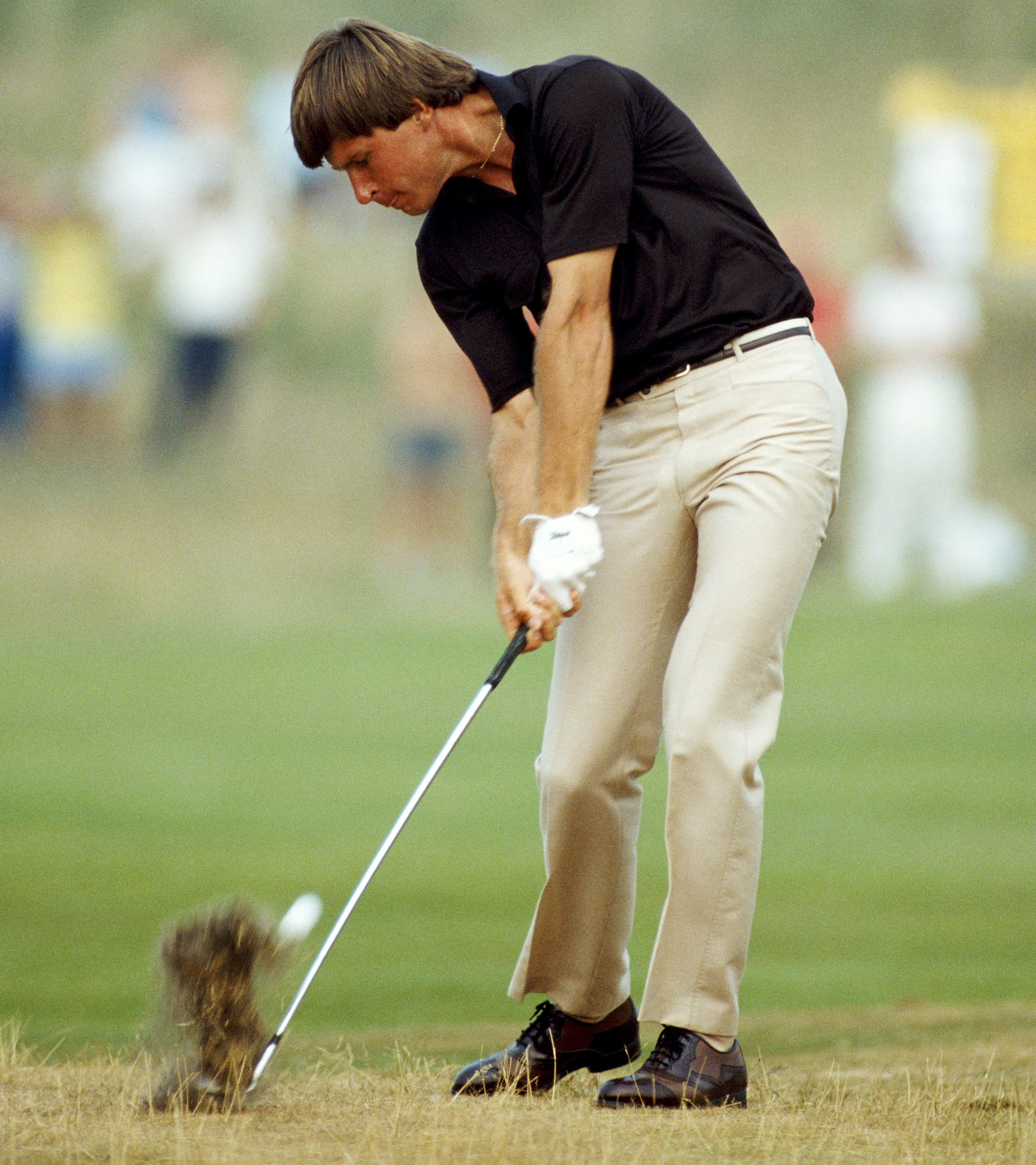 Despite early success on Tour and four top-10 Open finishes before 1985, Faldo remodelled his swing with coach David Leadbetter in the mid-1980s (Photo: Getty Images)