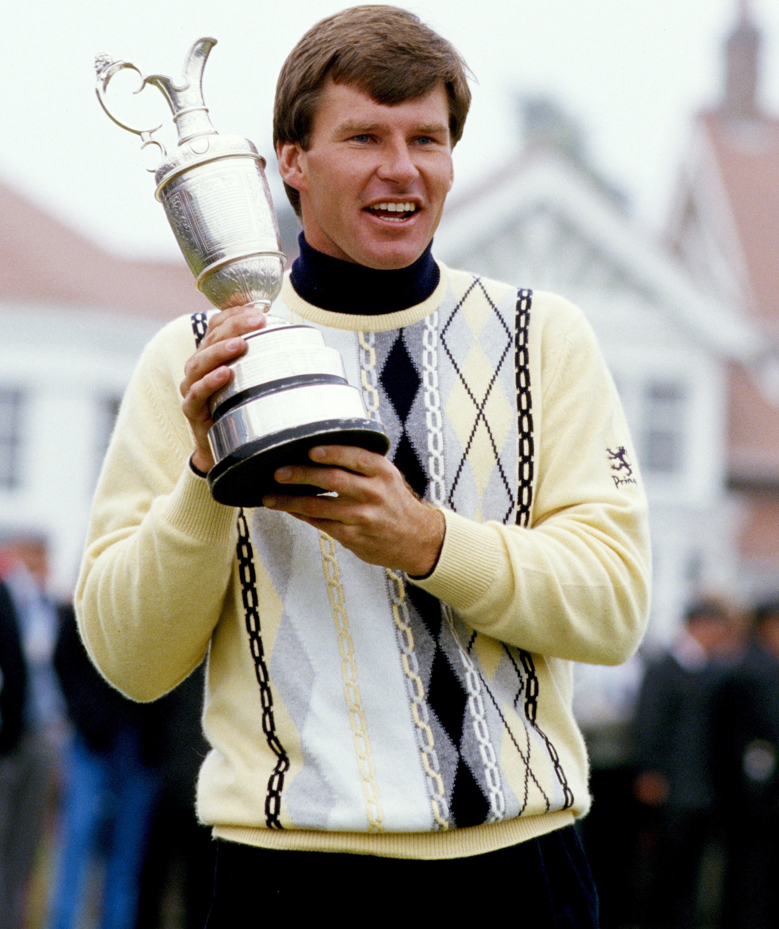 The breakthrough came in 1987, when Faldo won the Open at Muirfield for a maiden major title. He carded 18 straight pars in the final round to finish one stroke ahead of Paul Azinger and Rodger Davis in what was the first Open triumph by an Englishman since Tony Jacklin in 1969 (Photo: Getty Images)