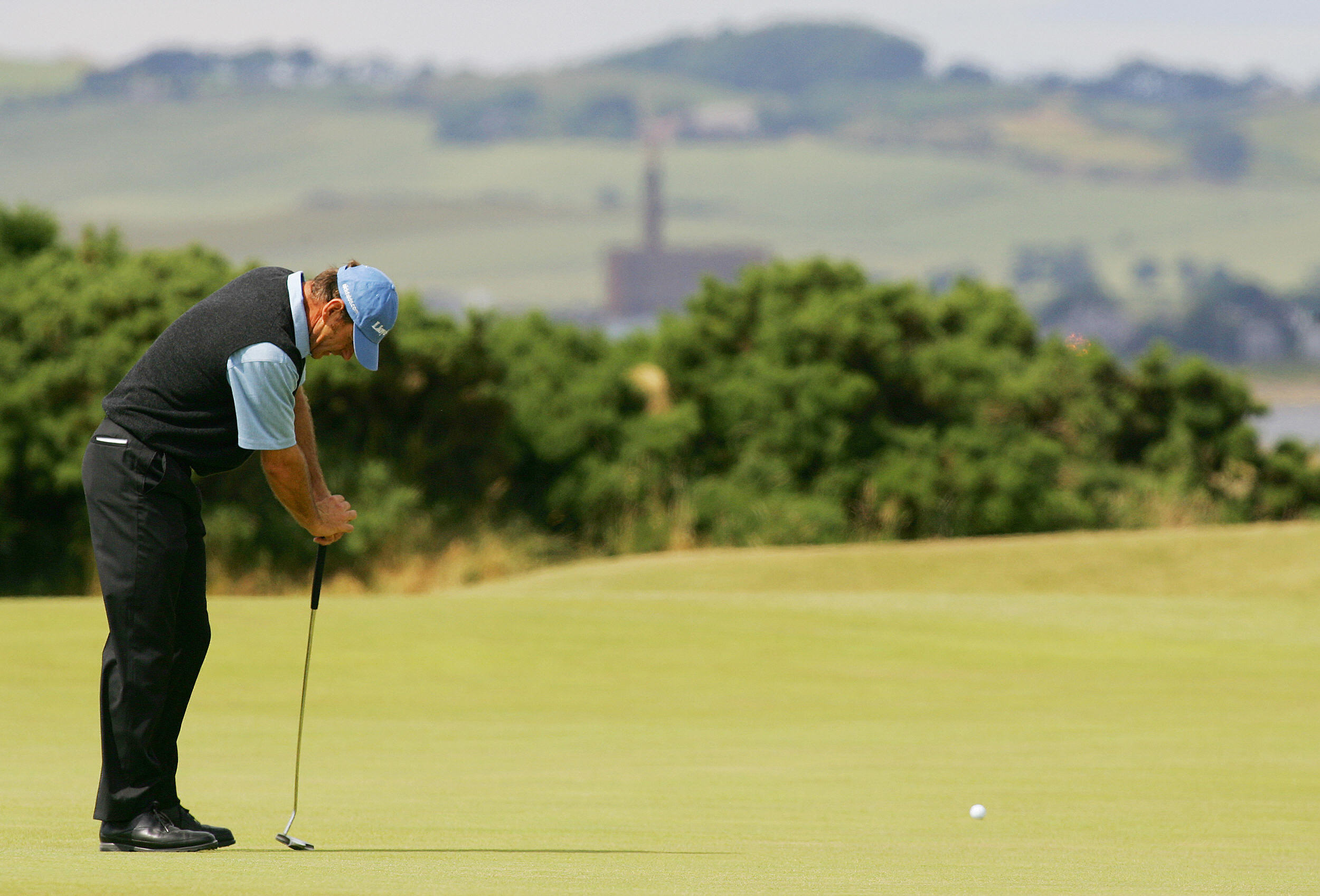 The Englishman last made the cut in the Open in 2005 at St Andrews, where he finished tied 11th (Photo: Getty Images)