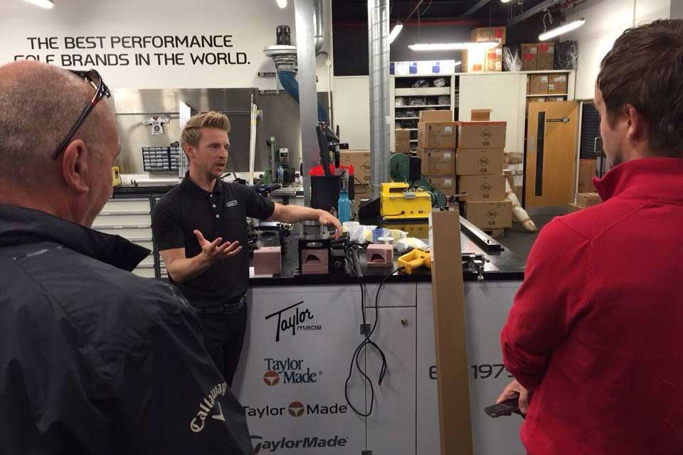 TaylorMade's Chris Hedderman reveals all inside the TaylorMade workshop