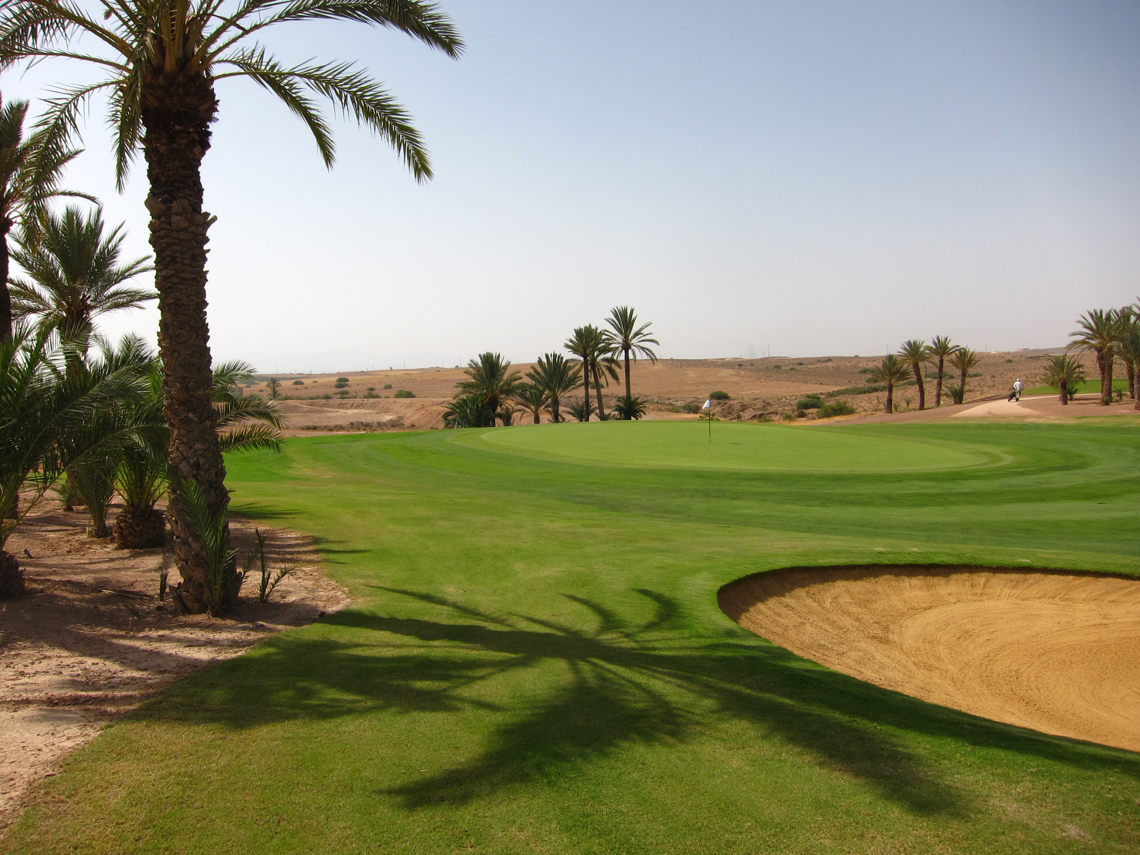 The fifth green marks the southern extremity of Assoufid