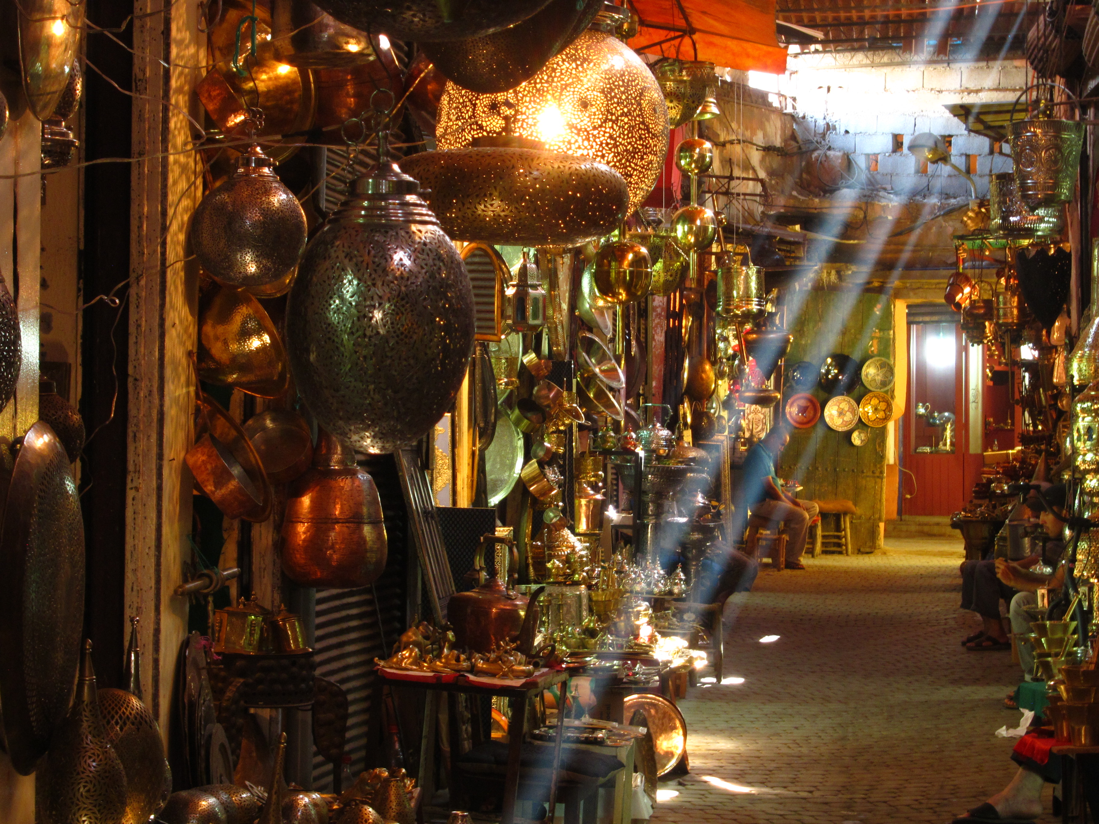 Marrakech's souks are a seemingly endless labyrinth of shops - but you are expected to haggle