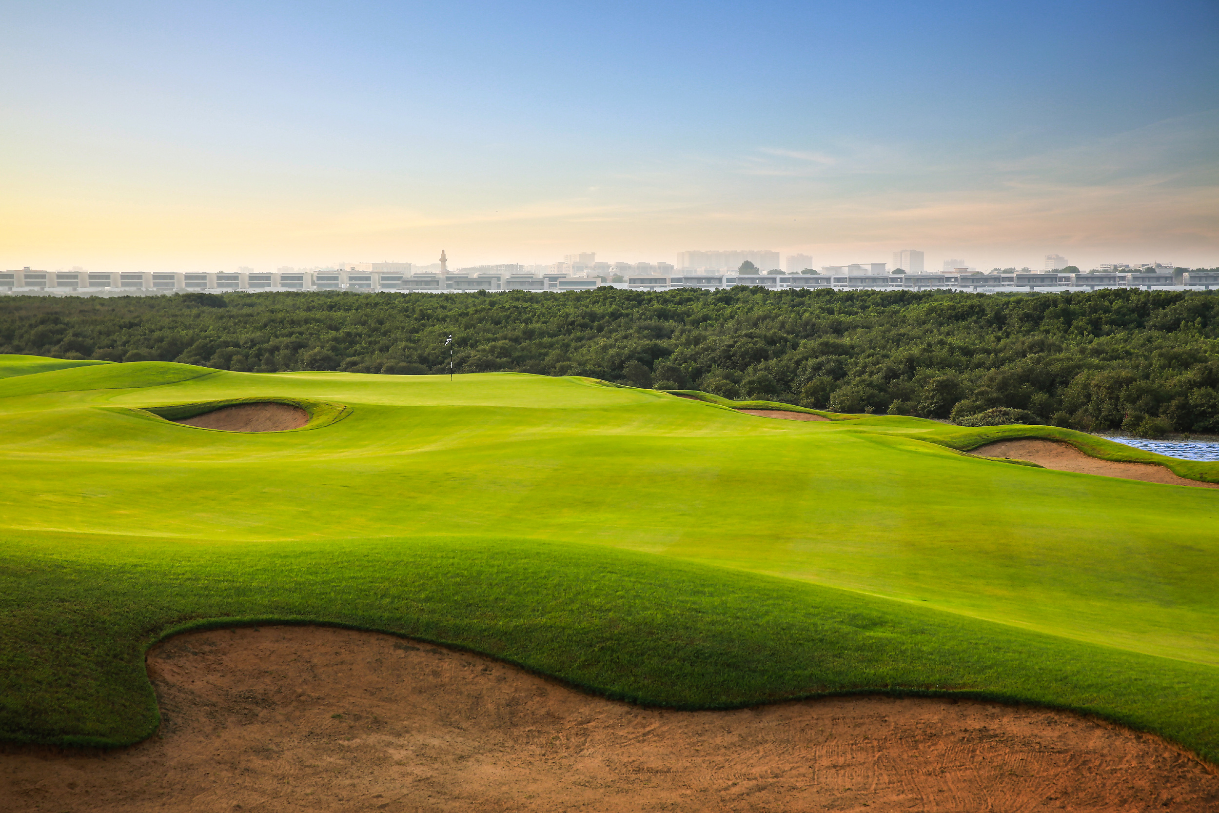 Al Zorah Golf Club is the United Arab Emirates' first new championship venue for nearly six years