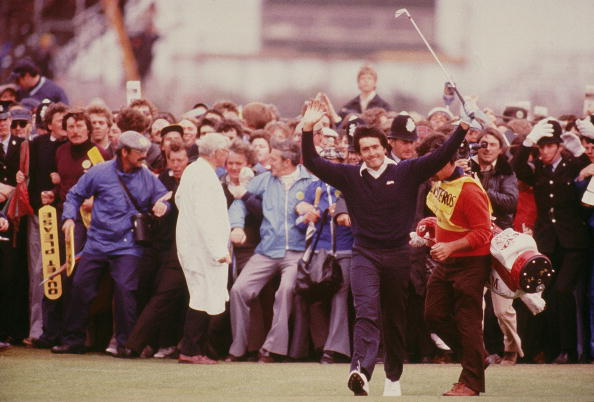 Seve Ballesteros, who went on to win the 1979 Open, is described as a 'genius' by Longmuir