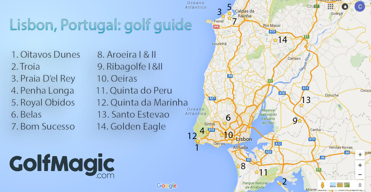 Golf in Lisbon, Portugal