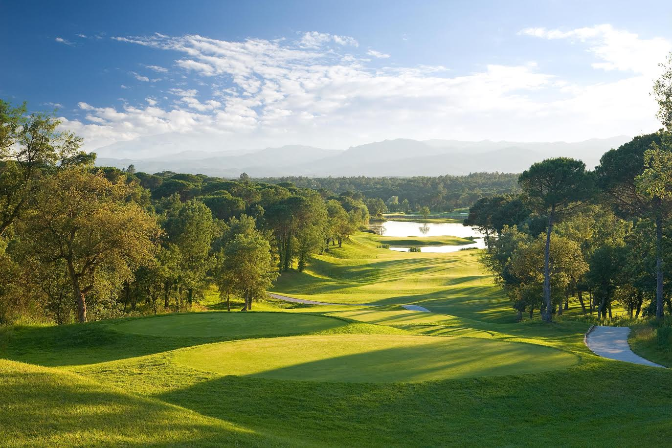 The Golfy network features top tournament courses such as PGA Catalunya Resort, Spain