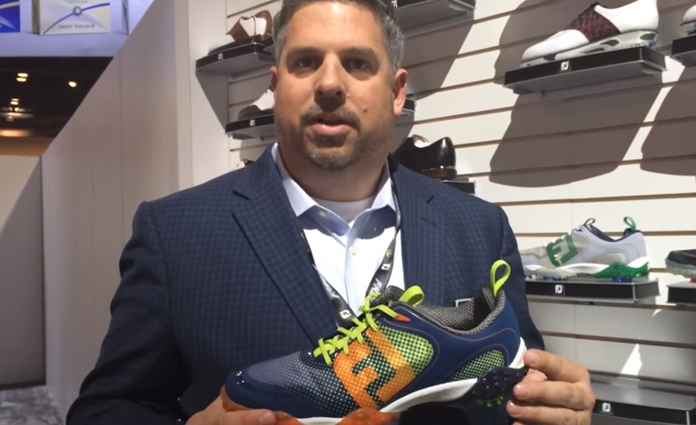 Mike Foley, FootJoy's director of footwear product management