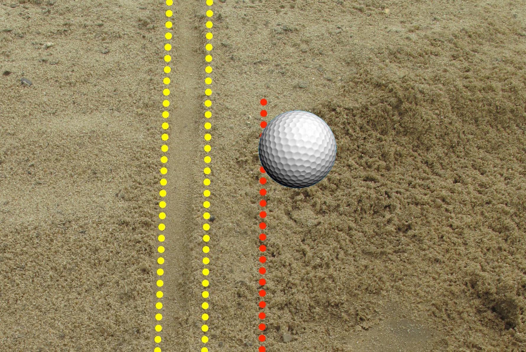 3.バンカー練習場でボールを使わず行う練習方法