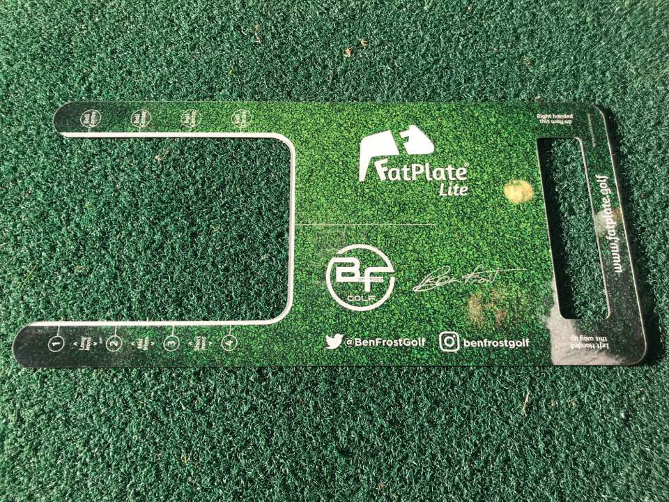 Fatplate Meet The New Golf Training Aid Sweeping The