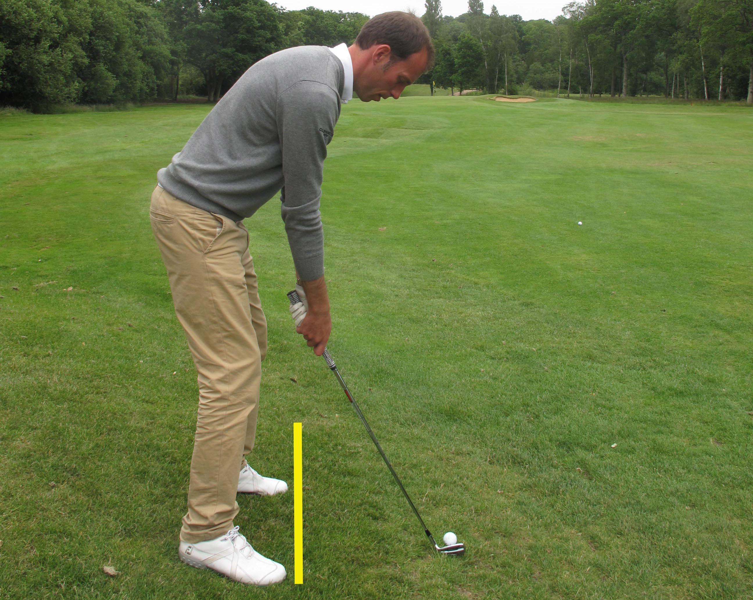 Toughest Golf Shots: ball below feet