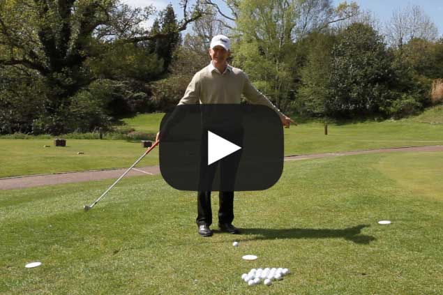 Pitching tips: clock-face drill