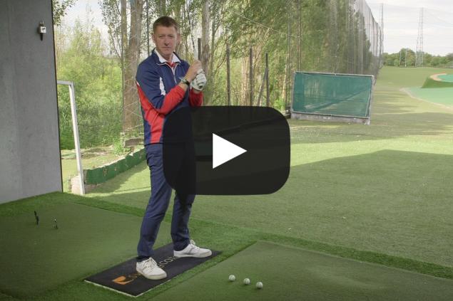 Better ball striking: the gate drill