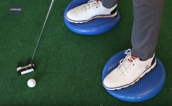 how to improve your balance when putting